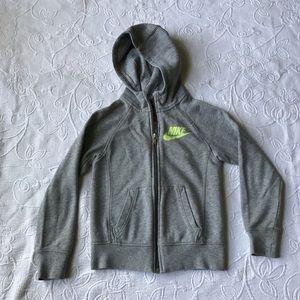 Kids Nike jacket Sz S full zip hoodie unisex